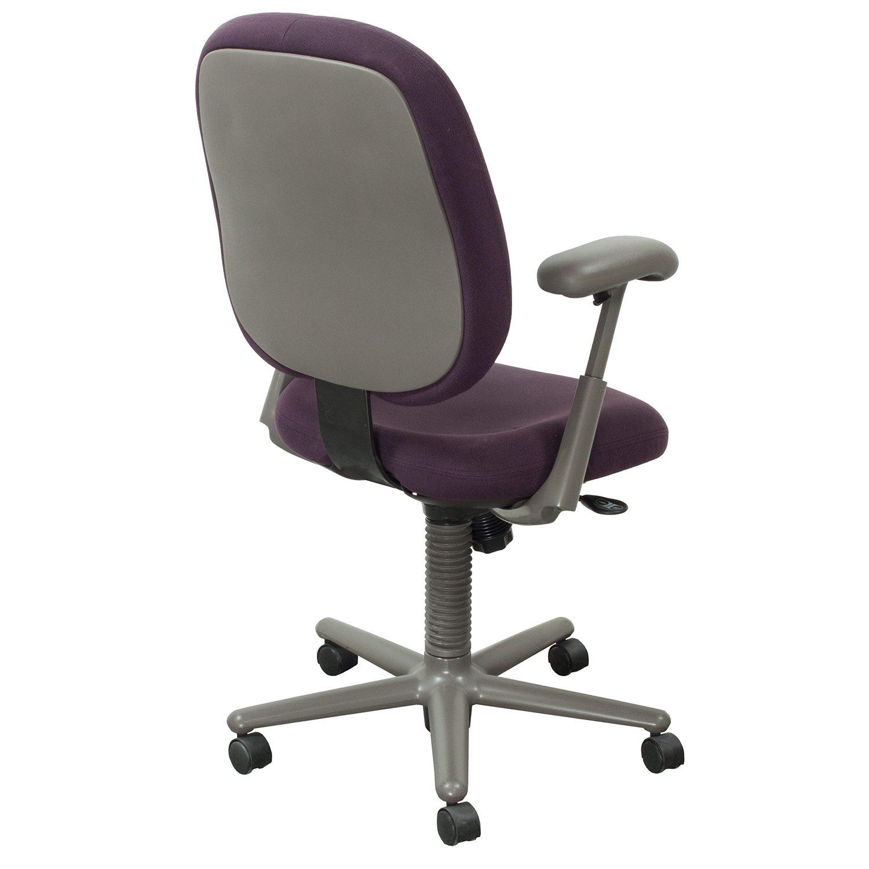 purple task chair wedding covers rotherham herman miller ergon used high back