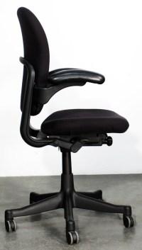 Herman Miller Reaction Used Task Chair, Black | National ...