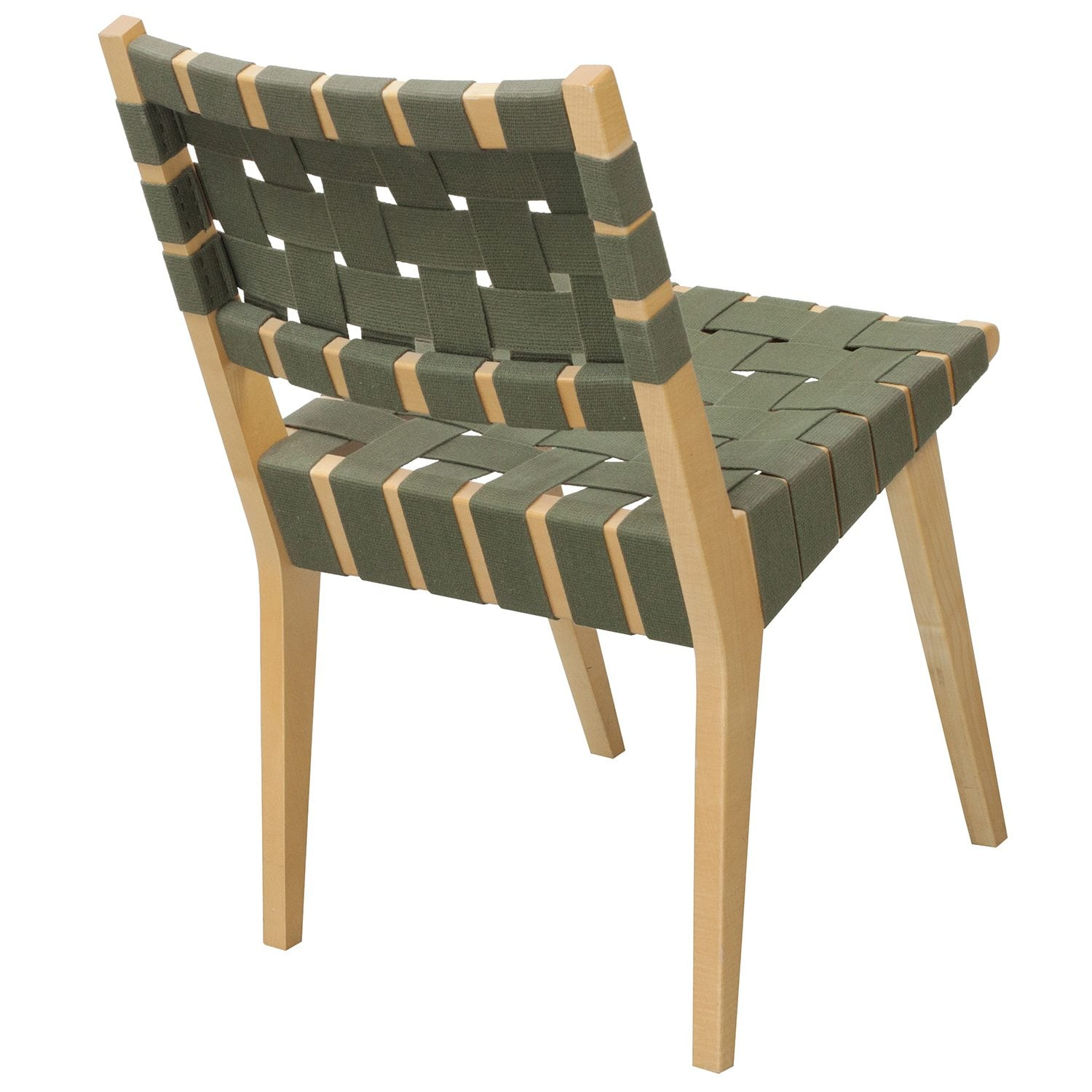 Knoll Risom Used Side Chair Green  National Office