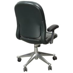 Herman Miller Leather Chair Ergonomic Equa Used High Back Task