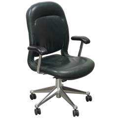 Herman Miller Leather Chair Sam Moore Equa Used High Back Task