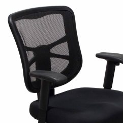 Alera Elusion Chair Camping 400 Lbs Capacity Series Used Mesh Mid Back Black