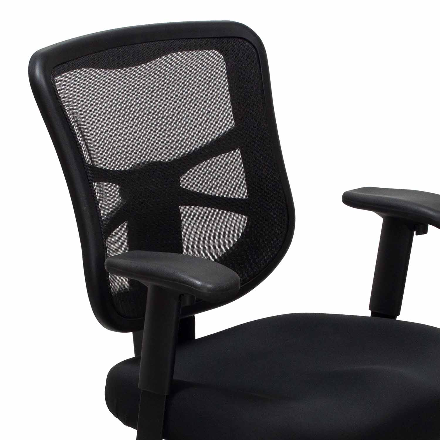alera elusion series mesh mid back multifunction chair bernhardt leather used black