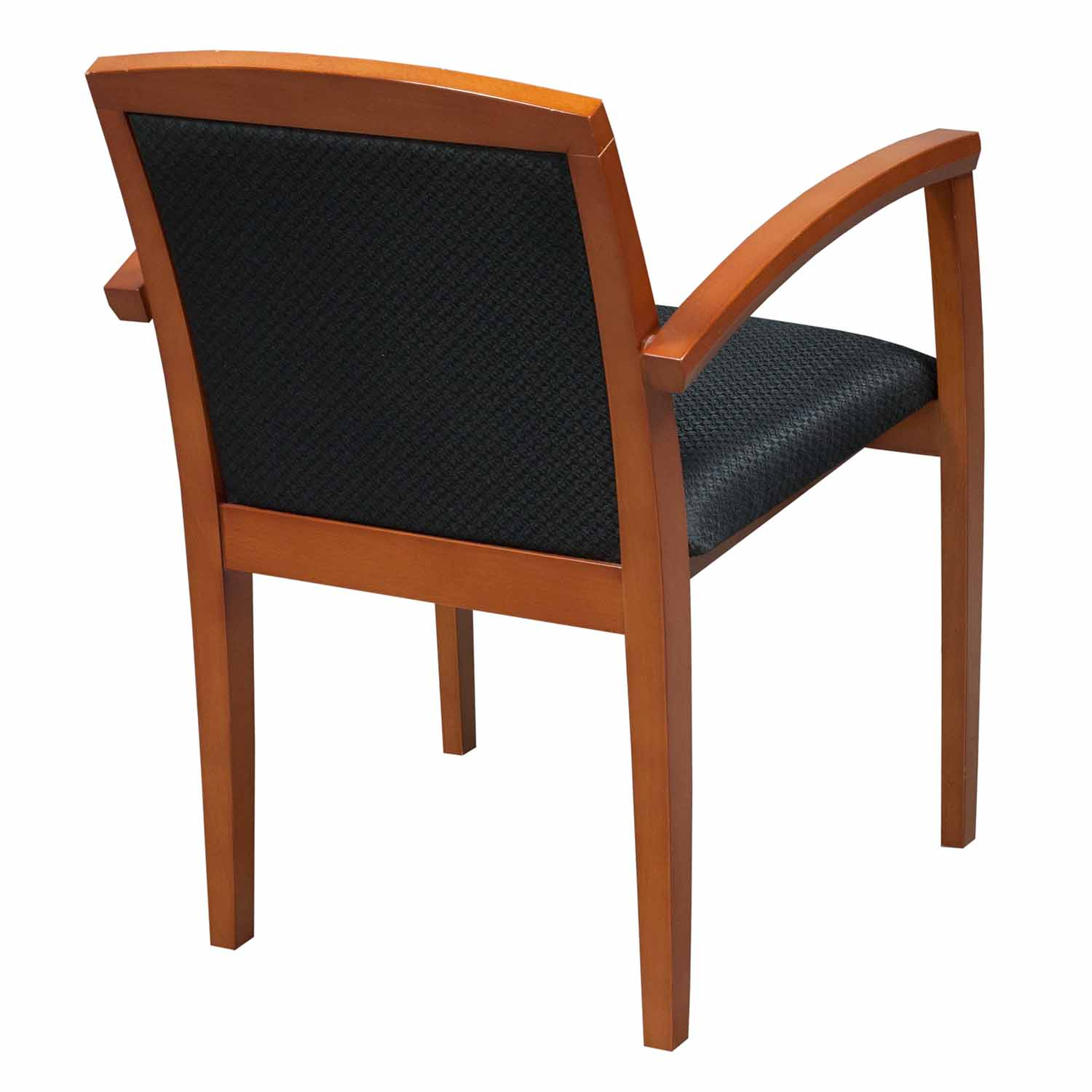 Cherry Chairs Wood Used Cherry Side Chair Black National Office