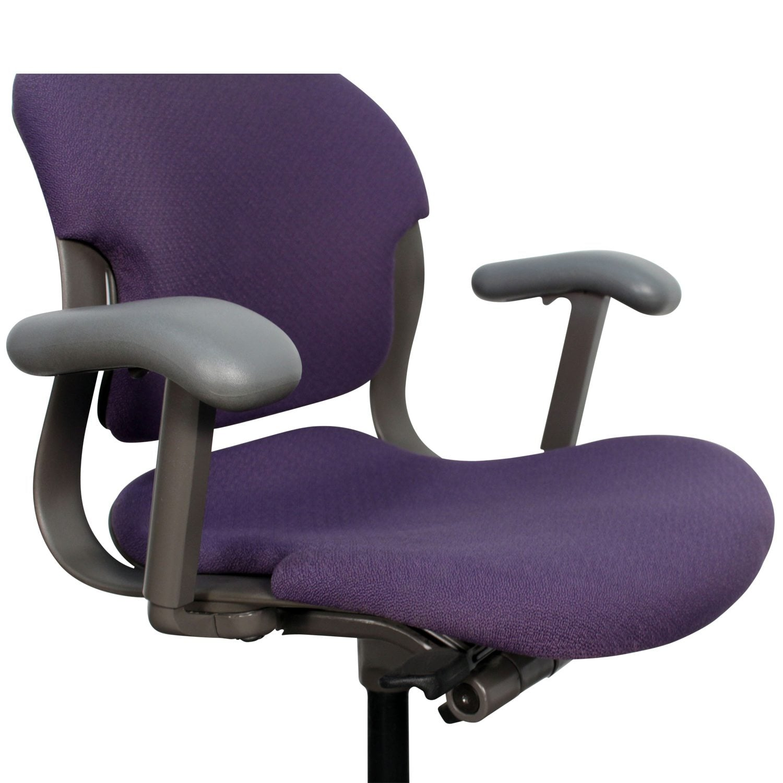 purple task chair baby 1 year old herman miller equa used national