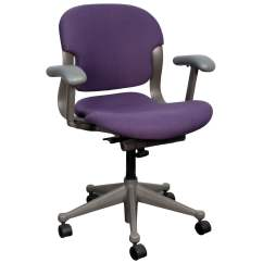 Purple Task Chair Stands Test Herman Miller Equa 1 Used National