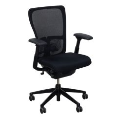 Haworth Zody Chair Patio Cushions Canada Mesh Back Used Task Black National