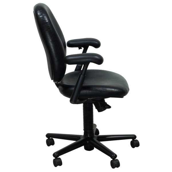 Herman Miller Ergon Used Size Leather Task Chair Black