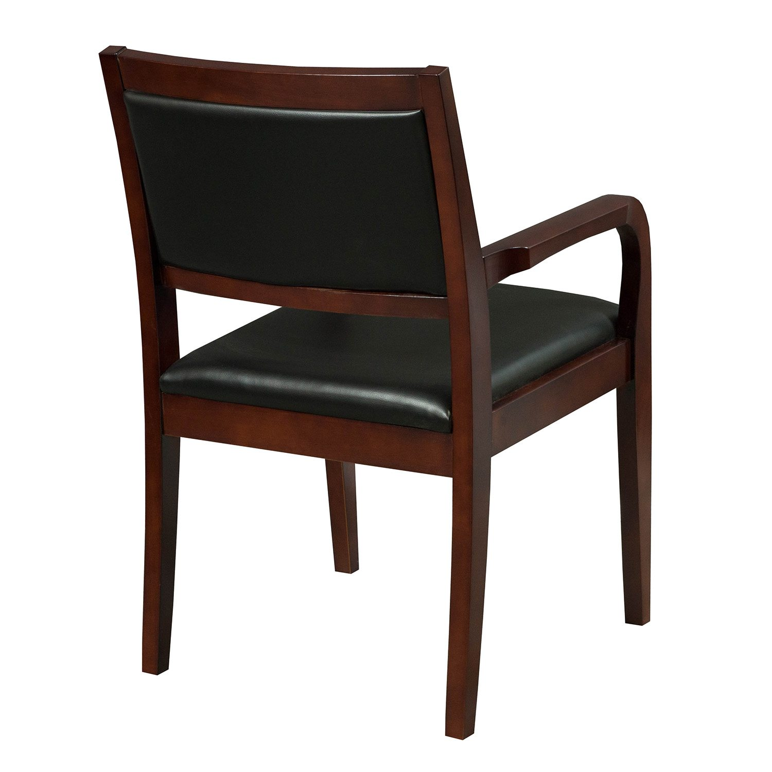 Cherry Chairs Caspian By Gosit New Executive Wood Guest Chair Cherry