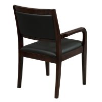 Caspian by goSIT New Executive Wood Guest Chair, Walnut ...