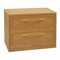 Jesper Used 2 Drawer 36 Inch Lateral File, Maple ...