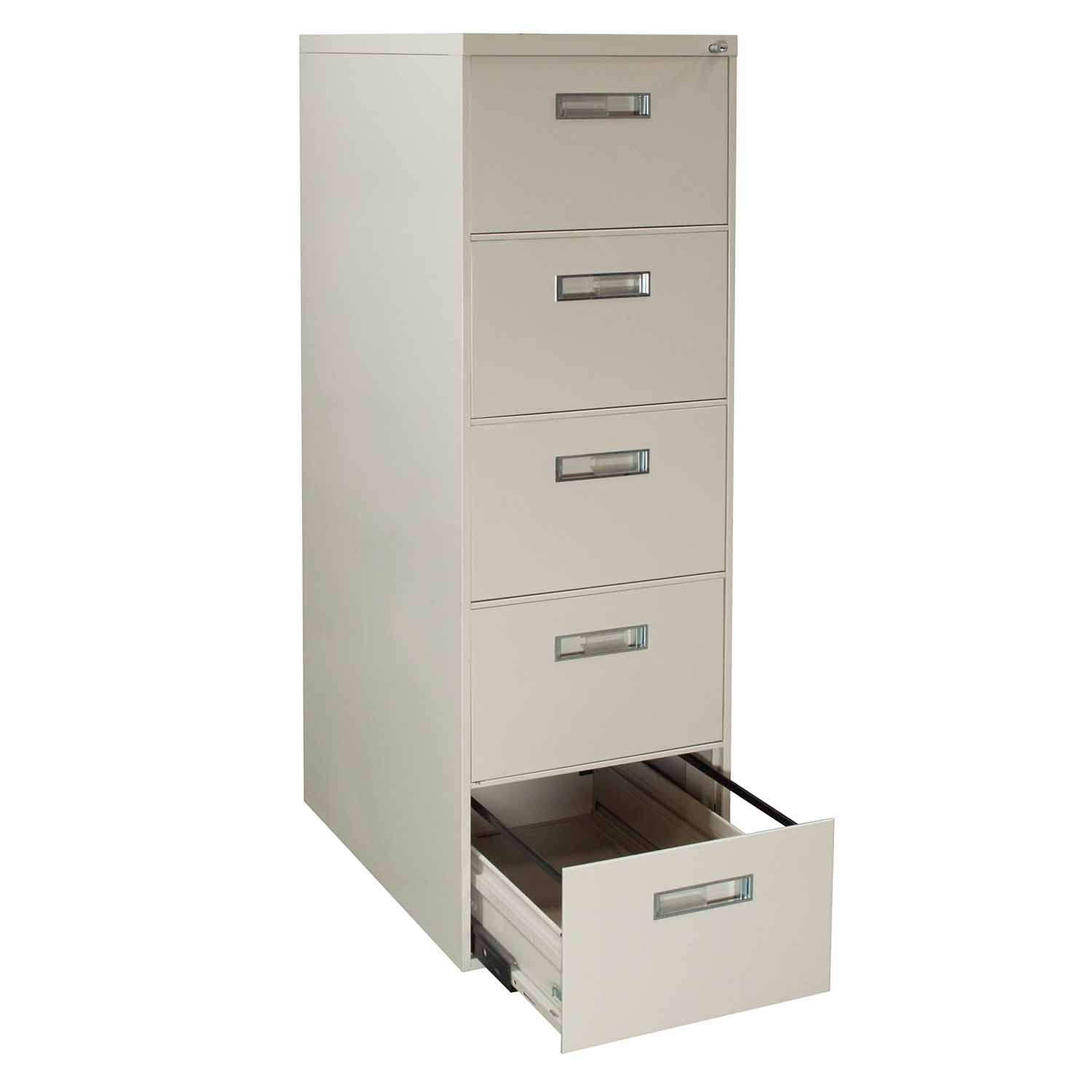 Steelcase Used 5 Drawer Vertical File Cabinet Legal Size