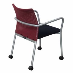 Red And Black Chair Kids Haircut Steelcase Jersey Used Mobile Stack