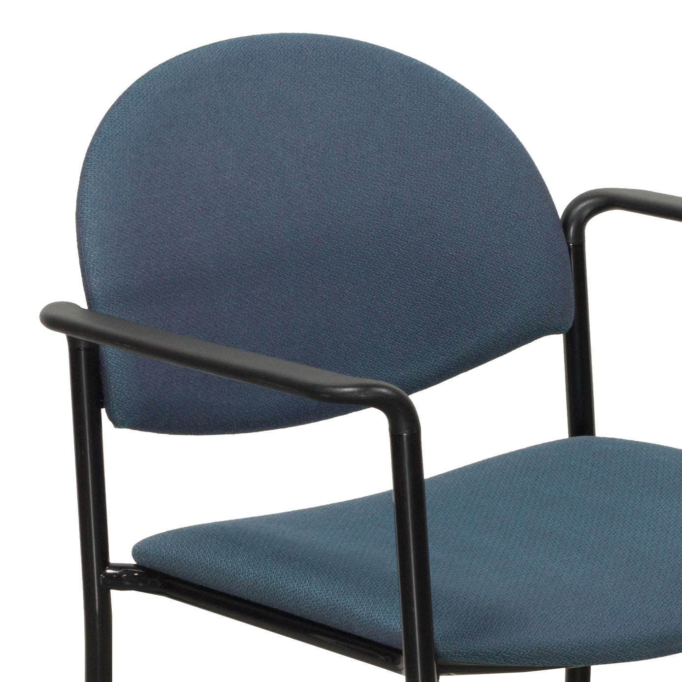 Ki Chairs Ki Versa Used Stack Chair Blue Tweed National Office