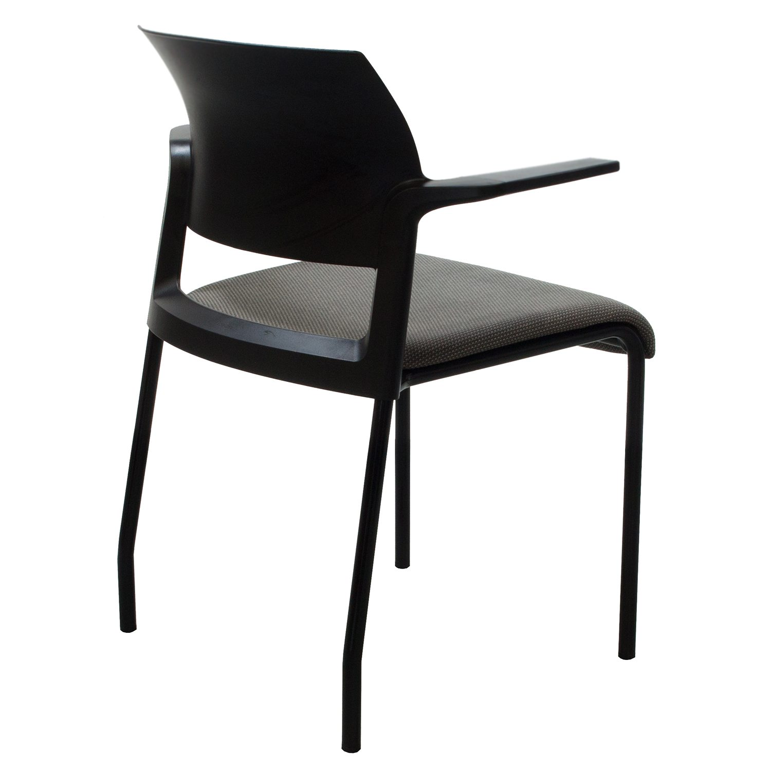 Moving Chair Steelcase Move Used Stacking Chair Black And Gray