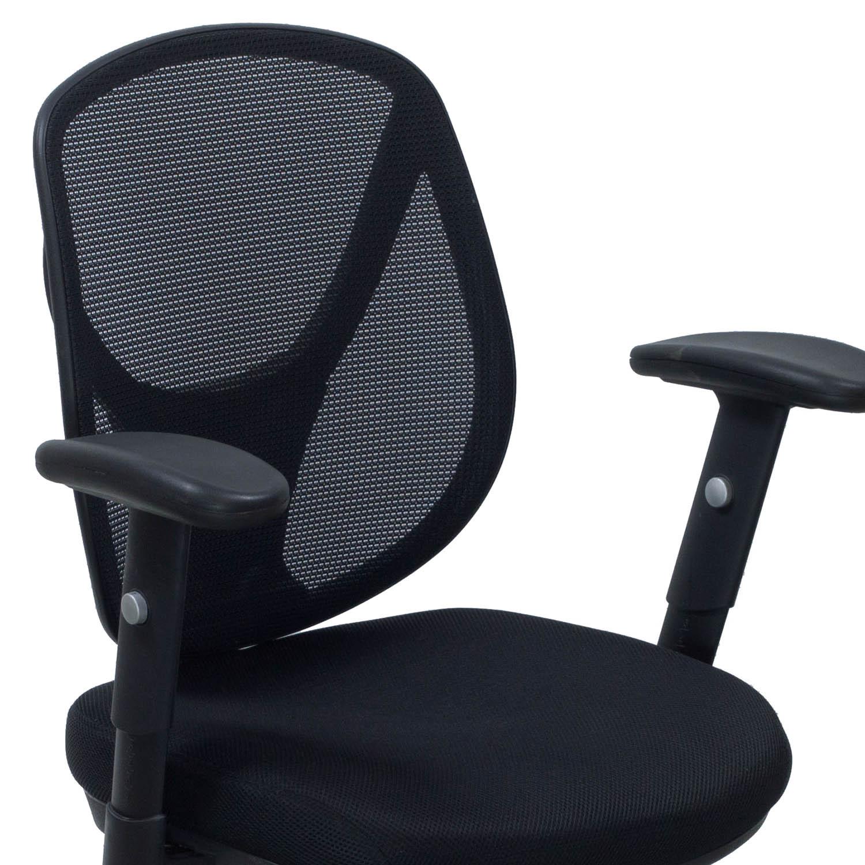 mesh task chair wooden child rocking avis acadia used black national office