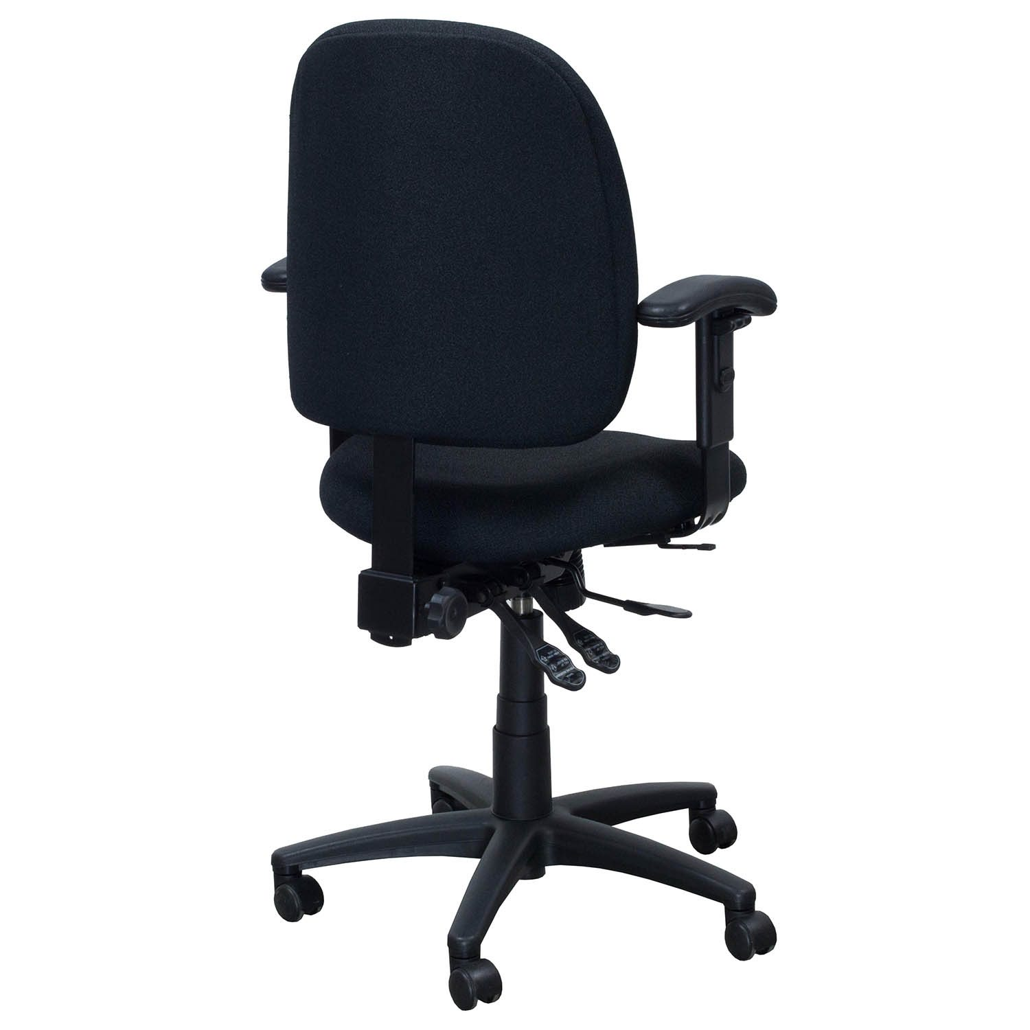 used computer chairs desk for bad backs uk n more task chair black national office