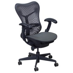 Mesh Task Chair Ciao Portable High Reviews Herman Miller Mirra Used Seat Graphite