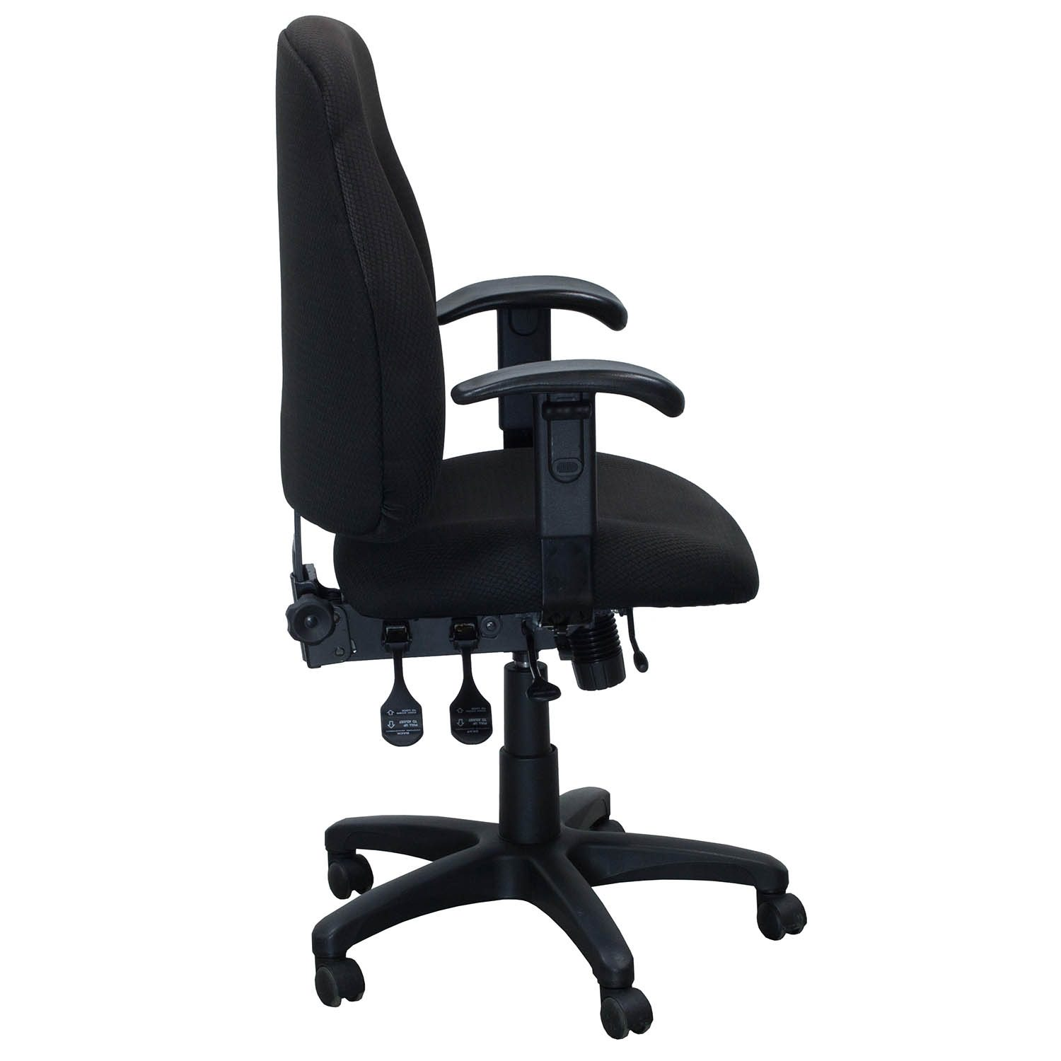Used High Chairs Used High Back Task Chair Black National Office