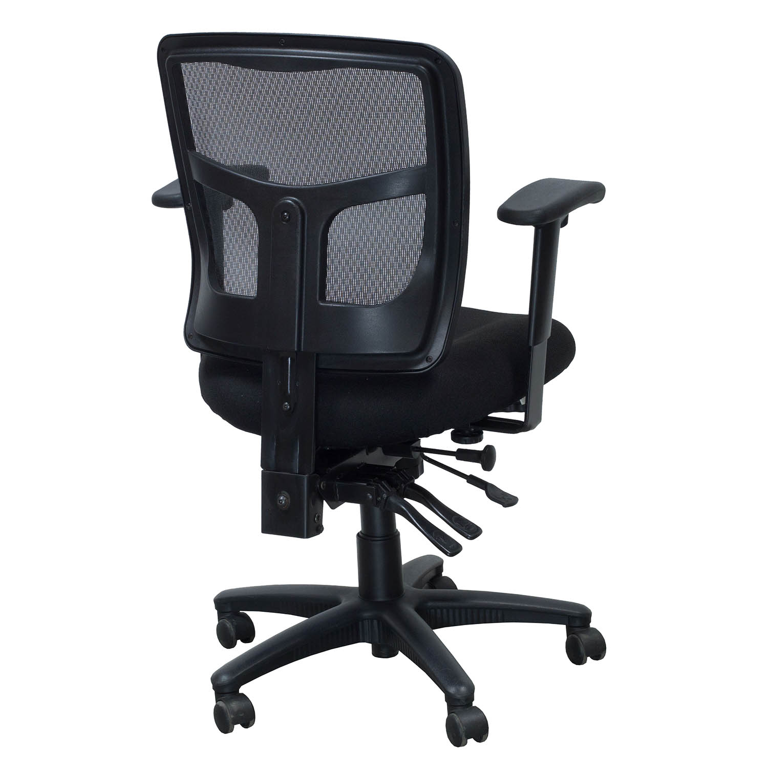 mesh task chair small comfortable officesource coolmesh series used black