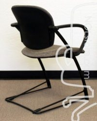 Steelcase Ally Used Multipurpose Chair, Patterned