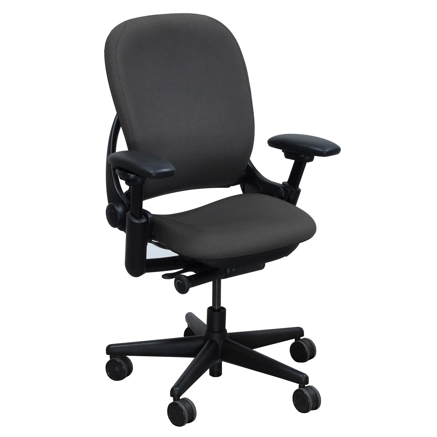 steelcase leap chair folding rental nyc v1 used task gray national office