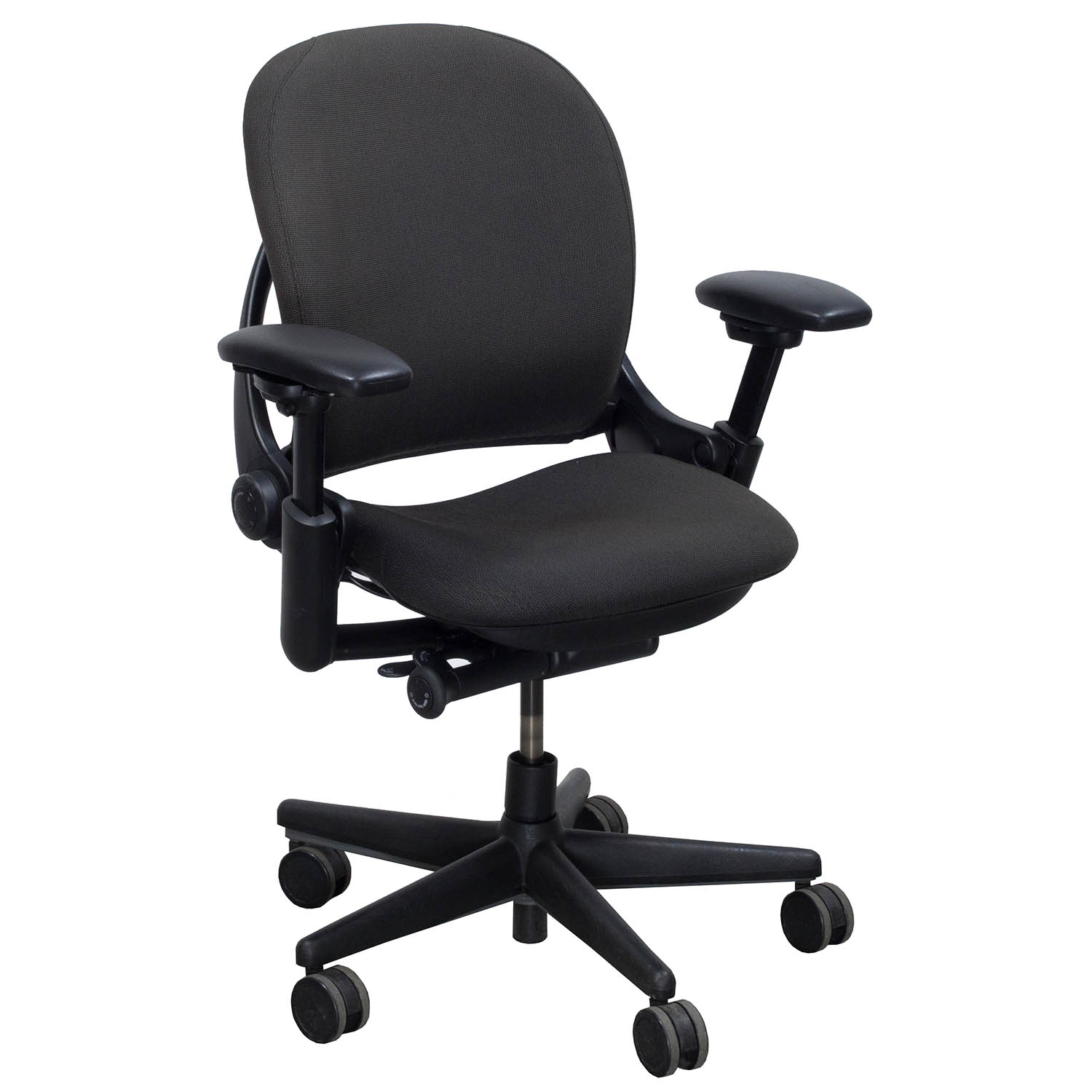 Steelcase Chairs Steelcase Leap V1 Used Task Chair Gray National Office