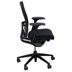 Haworth Zody Chair Redo Sling Patio Chairs Mesh Back Used Task Black National