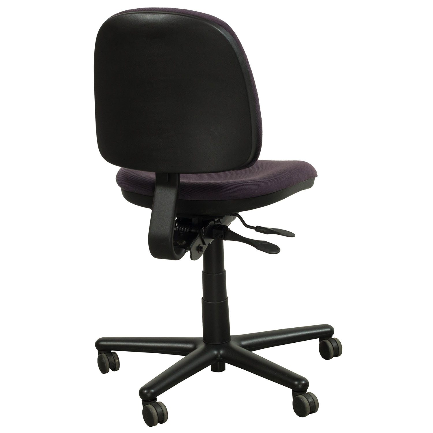 purple task chair pub table with 4 chairs kimball used midback national office