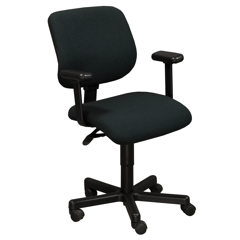 desk chair youtube baby swing argos kimball used square back task black national