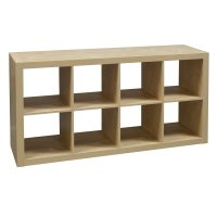 8 Cubby Used Bookcase, Maple | National Office Interiors ...