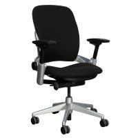 Steelcase Leap V2 Used Task Chair, Black