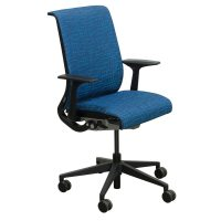 Steelcase Think Used Conference Chair, Blue Perpendicular ...
