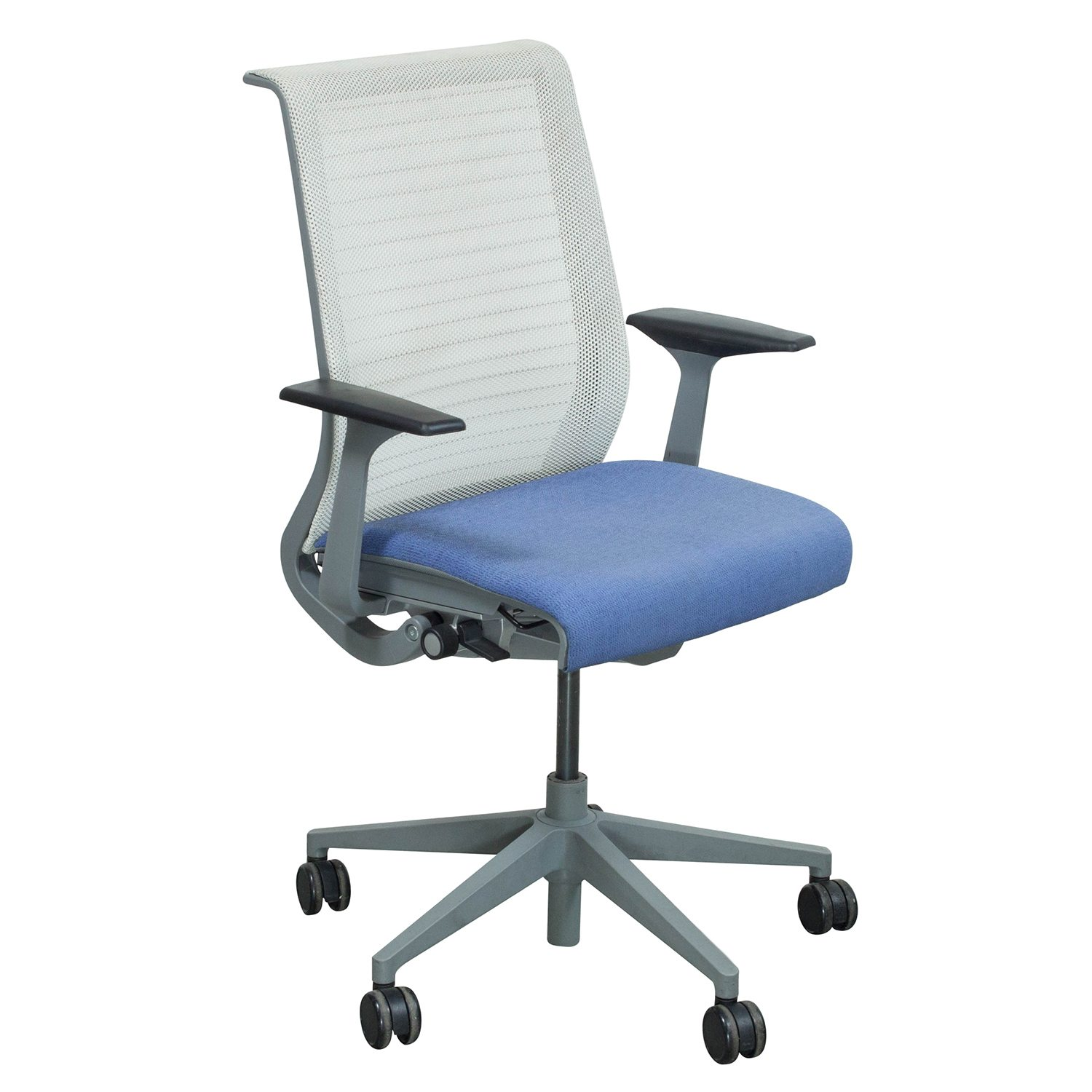 Steelcase Chairs Steelcase Think Used Mesh Back Conference Chair Lavender