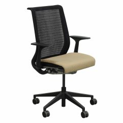 Yellow Office Chair Best Home Furnishings Steelcase Think Used Mesh Back Conference