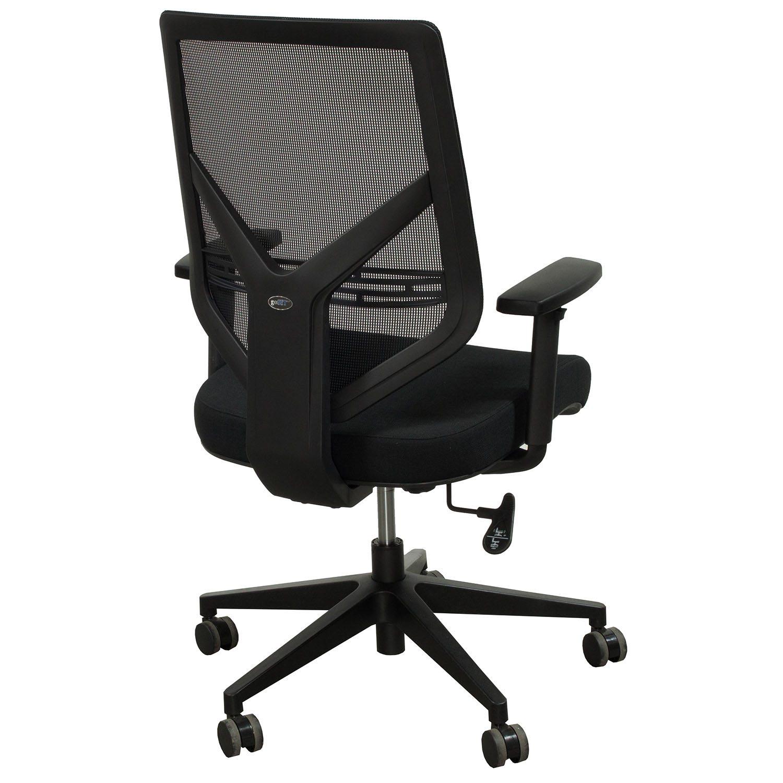 mesh task chair arm rocker gosit back black national office