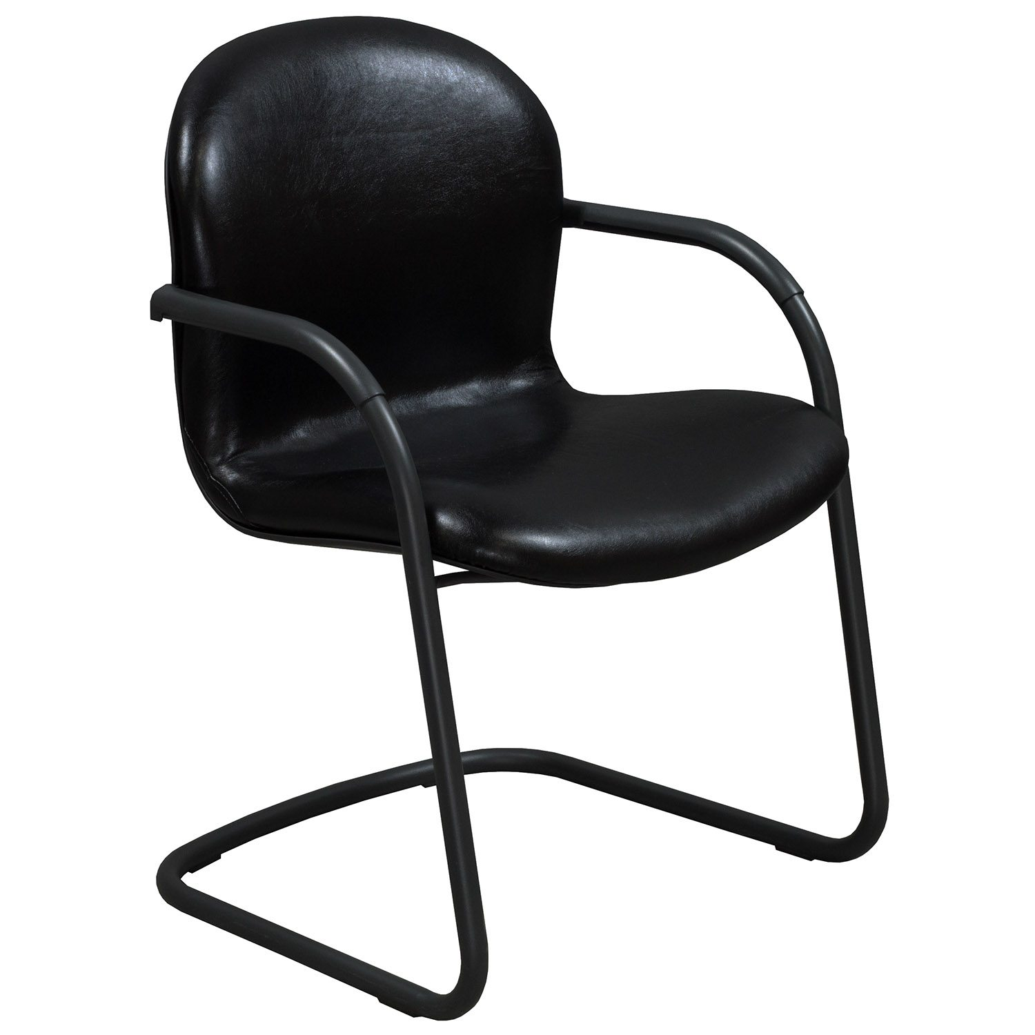 Leather Side Chair Knoll Rpm Used Leather Side Chair Black National Office