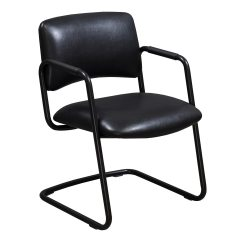 Leather Side Chair Lazy Boy Chairs On Sale Steelcase Used Black National Office