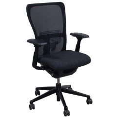 Haworth Zody Chair Circle Bungee Cord Used Task Black Pattern