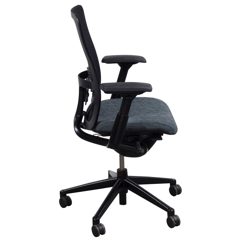 haworth zody chair mamas and papas seat used task gray circle pattern