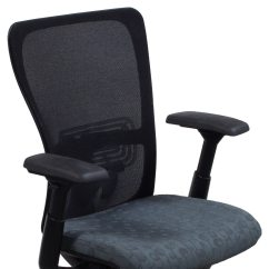 Haworth Zody Chair Arm Of Used Task Gray Circle Pattern