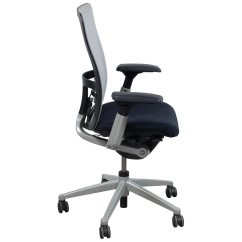 Haworth Zody Chair Dental Electrical Requirements Used Task White Mesh National Office Interiors