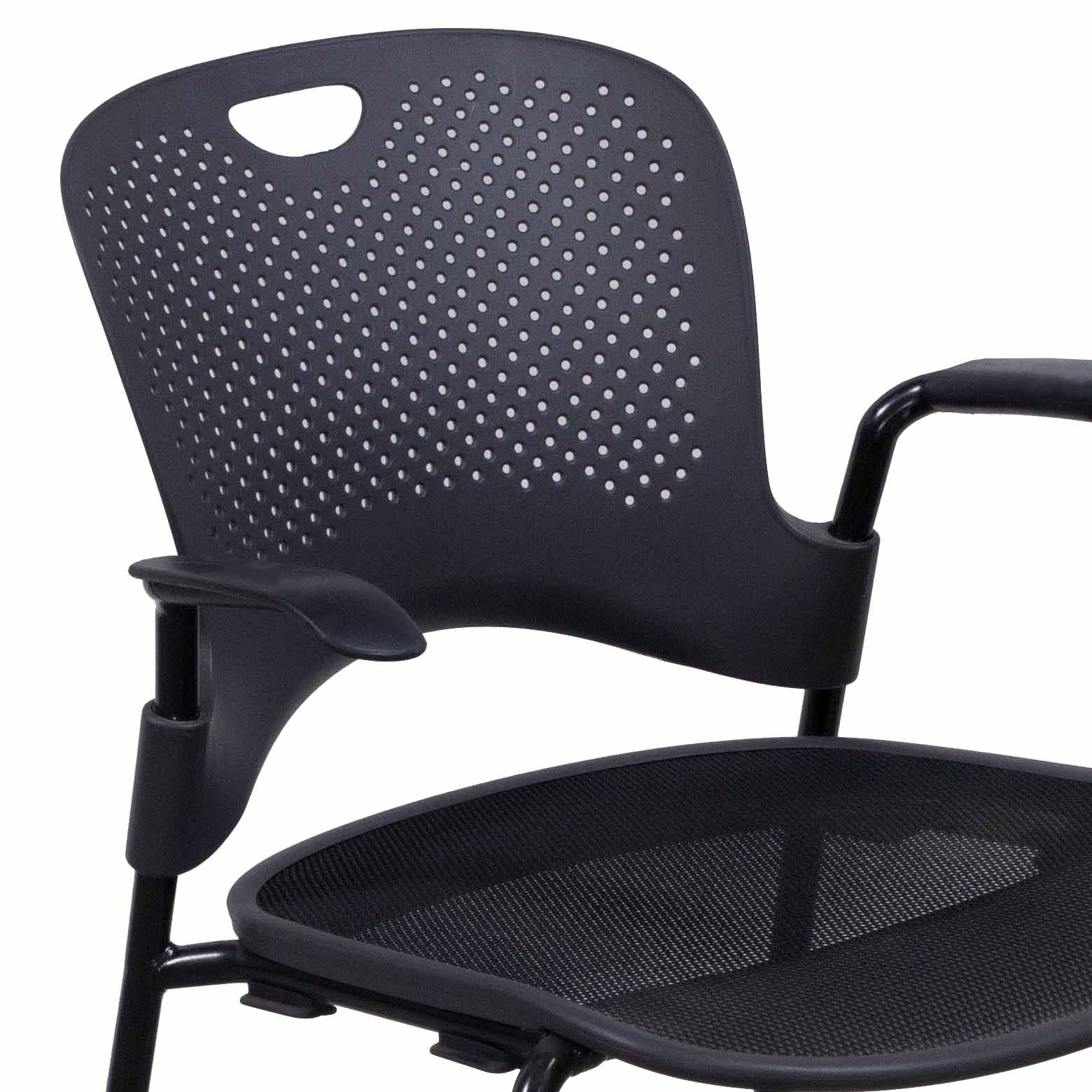 Caper Chair Herman Miller Caper Used Stack Chair Dark Gray National