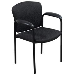 Black Side Chair Red Leather Hon Used Speckle Pattern National