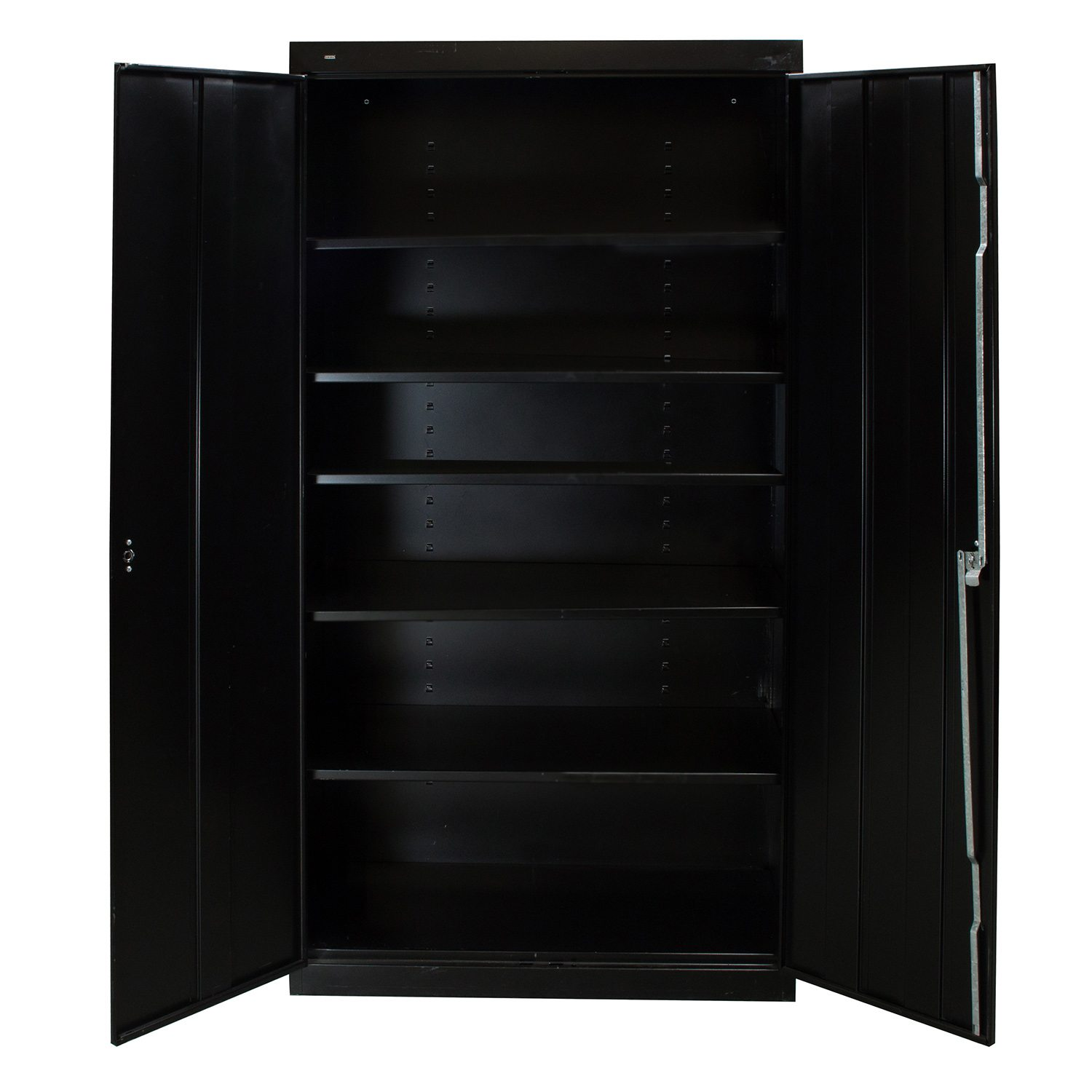 Hon Used Storage Cabinet 72 inch, Black