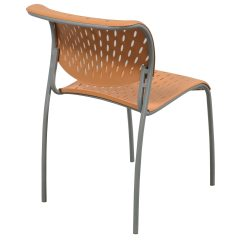 Orange Stackable Chairs The Most Comfortable Office Chair Izzy 43 Hannah Used Stack National