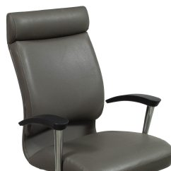 Used Conference Room Chairs Chair Rentals For Weddings Ofs Cs2 High Back Leather Gray