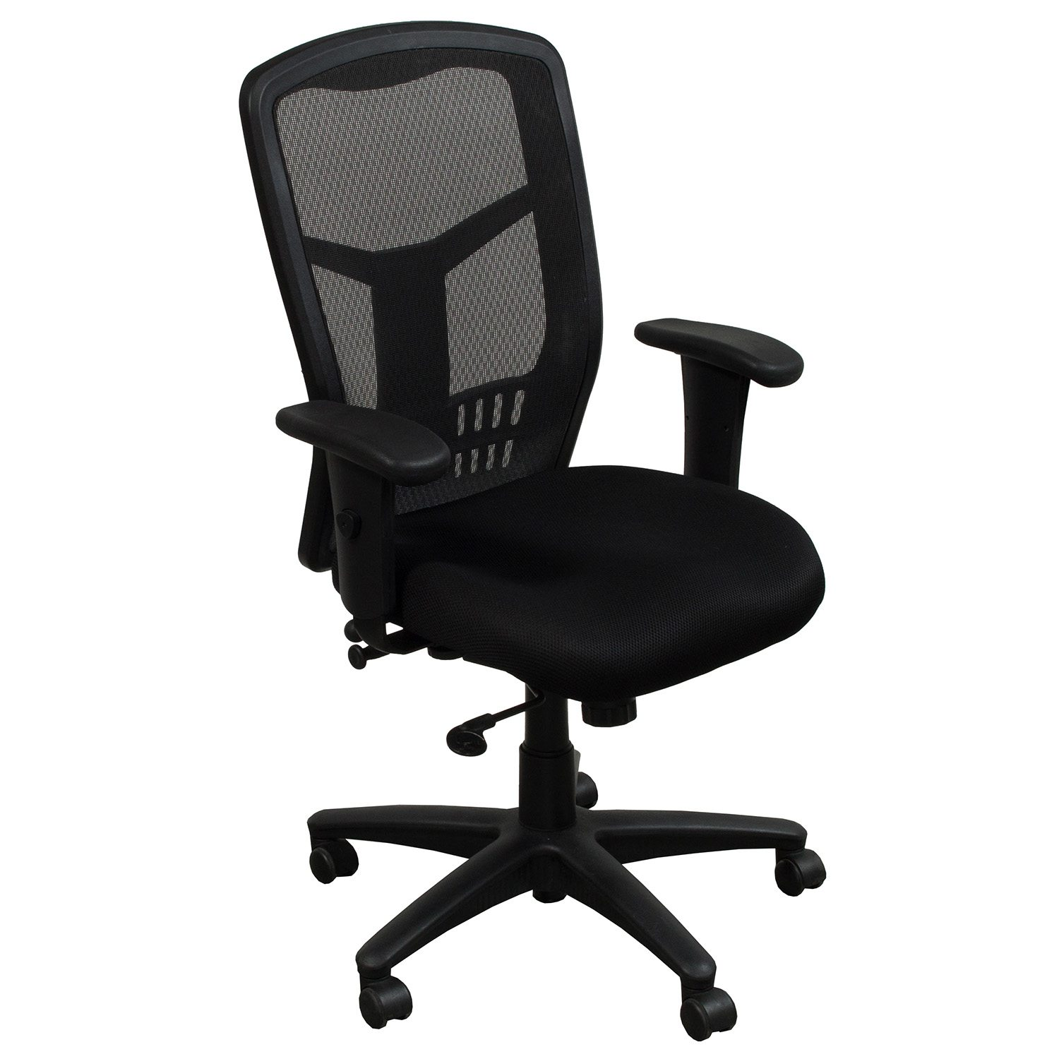 black chair and ottoman set office star products progrid used mesh back task