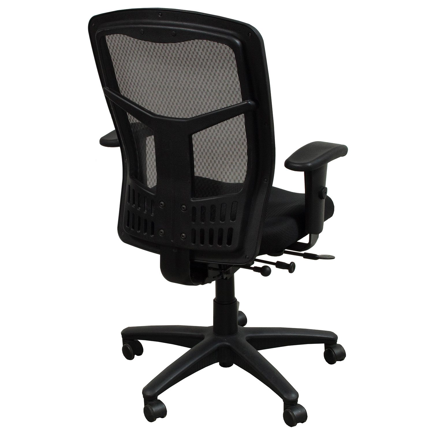 mesh back chairs for office round rattan chair with cushion star products progrid used task