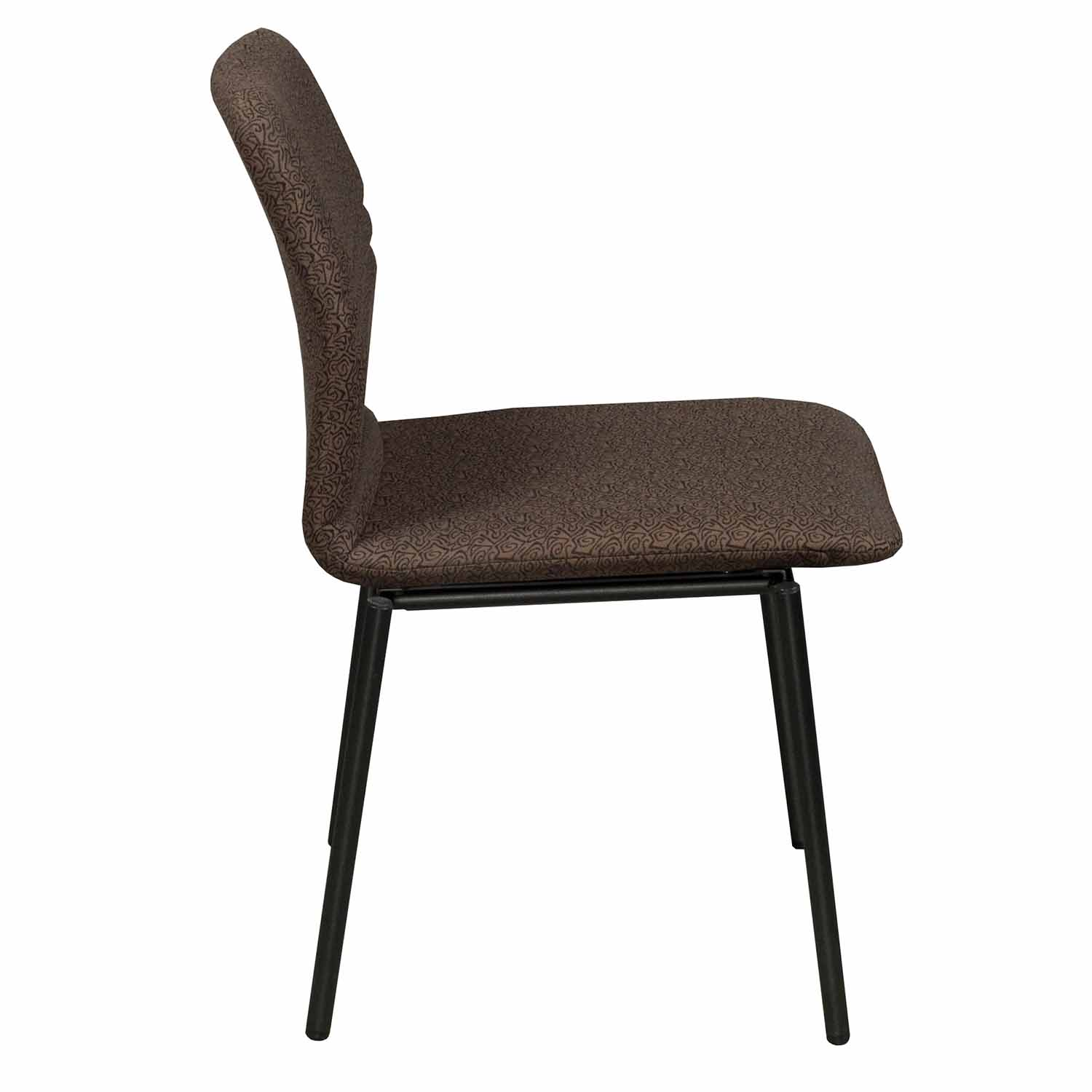 Bounce Chair Stylex Bounce Used Stack Chair Brown National Office Interiors And Liquidators